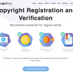 【ブロックチェーンで知的財産の証明】CopyrightBankの使い方。